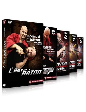 """Coffret 5 DVD """"Spécial armes"""""""