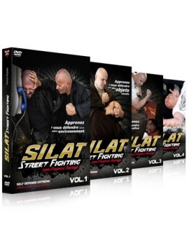 "Coffret 4 DVD ""Street Fighting"""