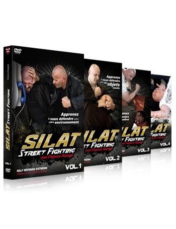 "Coffret 4 DVD ""Street Fighting"""