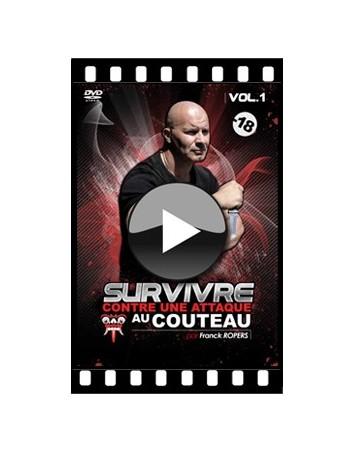 """VOD """"Survivre contre une attaque au couteau"""" (Vol.1)"""