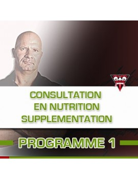 CONSULTATION EN NUTRITION/SUPPLEMENTATION
