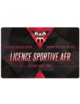 Licence Sportive A.F.R