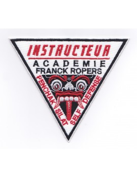 "ECUSSON BRODÉ AFR ""INSTRUCTEUR"""