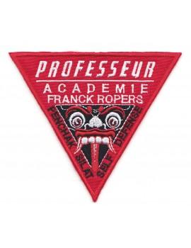 """ECUSSON BRODÉ AFR """"PROFESSEUR"""""""