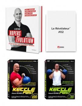 """La méthode Ropers Evolution : Se sentir fort avec un minimum d'efforts + 2 numéros du """"révélateur"""" + 2 DVD Kettle Fast"""