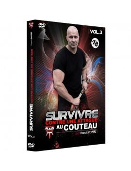 """DVD """"Survivre contre une attaque au couteau"""" (Vol. 3)"""