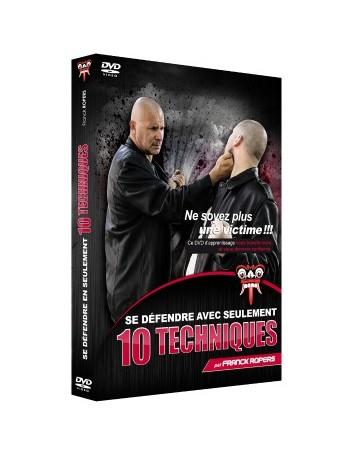 """DVD """"Se défendre en seulement 10 techniques"""""""