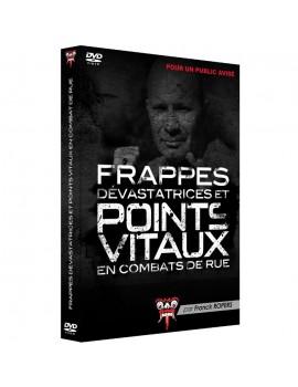 """DVD """"Frappes dévastatrices et points vitaux en combat de rue"""""""