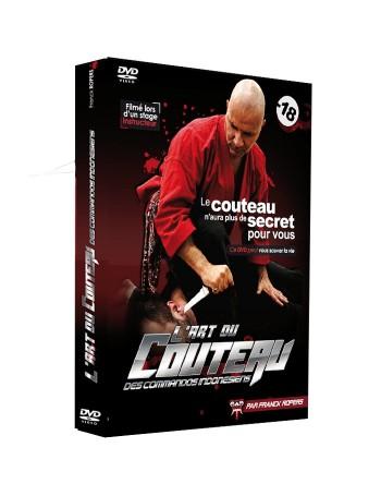 """DVD """"L'art du couteau des commandos indonésiens"""""""