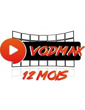 VODMAX - 12 MOIS