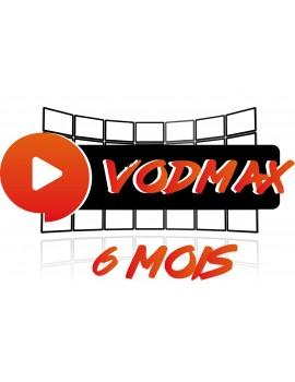 VODMAX - 6 MOIS