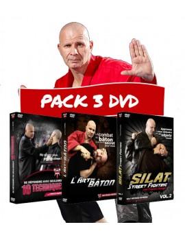 Pack 3 DVD - Survivre à une attaque au couteau